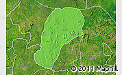 Political Map of YagbaEas, satellite outside