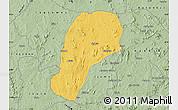 Savanna Style Map of YagbaEas