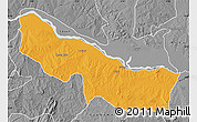 Political Map of Edu, desaturated