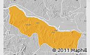 Political Map of Edu, lighten, desaturated