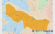 Political Map of Edu, lighten