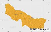 Political Map of Edu, single color outside