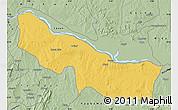 Savanna Style Map of Edu