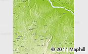 Physical Map of Ifelodun