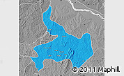 Political Map of Ifelodun, desaturated