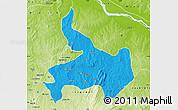 Political Map of Ifelodun, physical outside