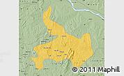 Savanna Style Map of Ifelodun