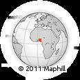 Outline Map of Ifelodun