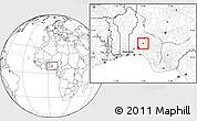 Blank Location Map of Irepodun (B)
