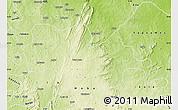 Physical Map of Irepodun