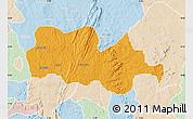 Political Map of Irepodun, lighten