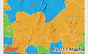Political Map of Irepodun