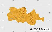 Political Map of Irepodun, single color outside