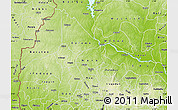 Physical Map of Kwara