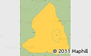 Savanna Style Simple Map of Oyun