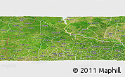 Satellite Panoramic Map of Kwara