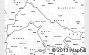 Blank Simple Map of Kwara