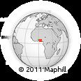 Outline Map of Ibeju/Lekki