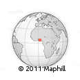 Outline Map of Ikorodu