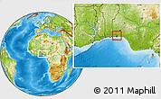 Physical Location Map of Shomolu