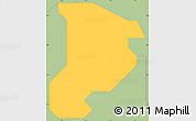 Savanna Style Simple Map of Shomolu