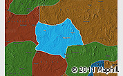 Political Map of Bosso, darken