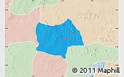 Political Map of Bosso, lighten