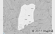 Gray Map of Gbako