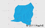 Political Map of Kontogur, cropped outside