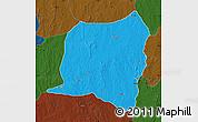 Political Map of Kontogur, darken