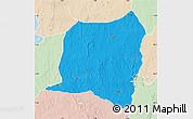 Political Map of Kontogur, lighten