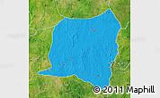 Political Map of Kontogur, satellite outside