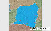 Political Map of Kontogur, semi-desaturated