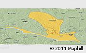 Savanna Style Panoramic Map of Lavun