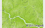 Physical Map of Mokwa