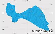 Political Map of Mokwa, cropped outside
