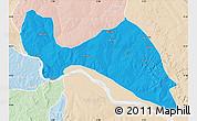 Political Map of Mokwa, lighten