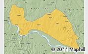 Savanna Style Map of Mokwa