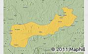 Savanna Style Map of Paikoro