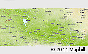 Physical Panoramic Map of Niger
