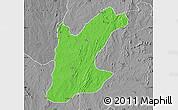 Political Map of Rafi, desaturated