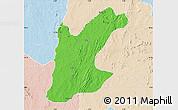 Political Map of Rafi, lighten