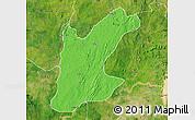 Political Map of Rafi, satellite outside