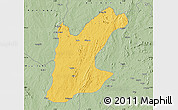 Savanna Style Map of Rafi