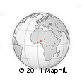 Outline Map of Rafi