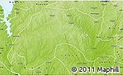 Physical Map of Wushishi