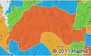 Political Map of Wushishi