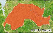 Political Map of Wushishi, satellite outside