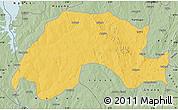 Savanna Style Map of Wushishi