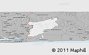 Gray Panoramic Map of EgbadoSouth